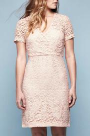 Yumi Guipure Lace Dress - Front cropped