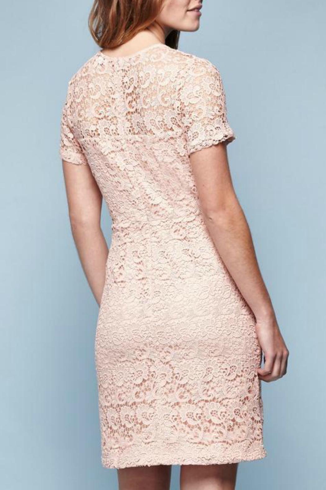 Yumi Guipure Lace Dress - Front Full Image