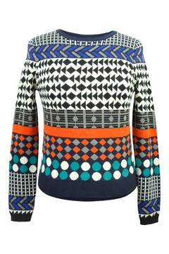 Yumi Jacquard Knit Sweater - Product List Image