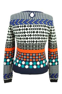 Yumi Jacquard Knit Sweater - Alternate List Image