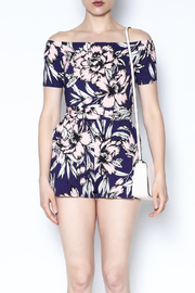 Yumi Kim Off Shoulder Romper - Front full body