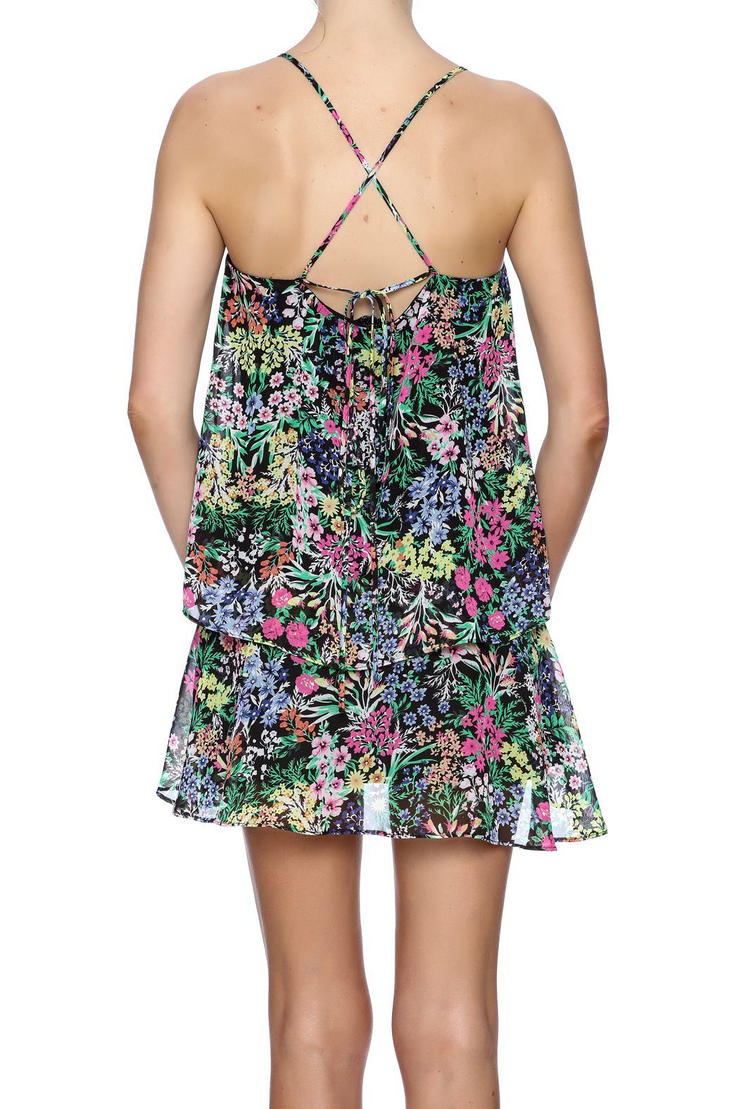 Yumi Kim Layer Up Dress - Back Cropped Image