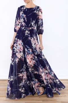 Shoptiques Product: Elegant Floral Maxi Dress