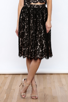 Yumi Midi Lace Skirt - Product List Image