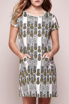 Shoptiques Product: Pineapple Shift Dress
