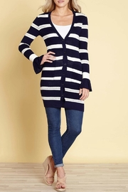 Yumi Pointelle Cardigan - Product Mini Image