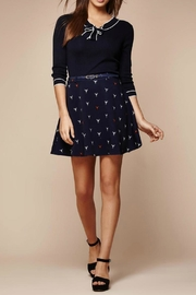 Yumi Printed Belted Skirt - Product Mini Image
