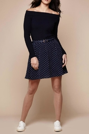 Yumi Printed Mini Skirt - Product Mini Image