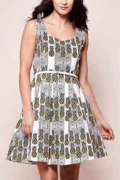 Yumi Printed Pineapple Dress - Product List Image