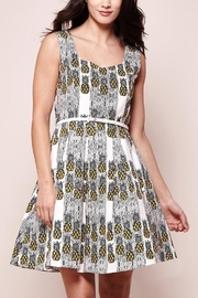 Yumi Printed Pineapple Dress - Product Mini Image