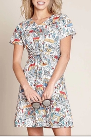 Yumi Retro Traveler Dress - Product Mini Image