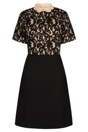 Yumi Scalloped Collar Dress - Front cropped