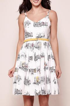Shoptiques Product: Scandi Sketch Dress