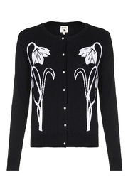 Yumi Snow Drop Cardigan - Front cropped