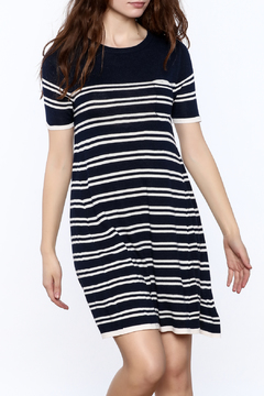 Yumi Nautical Sweater Dress - Product List Image