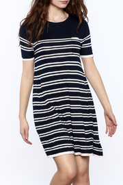 Yumi Nautical Sweater Dress - Product Mini Image