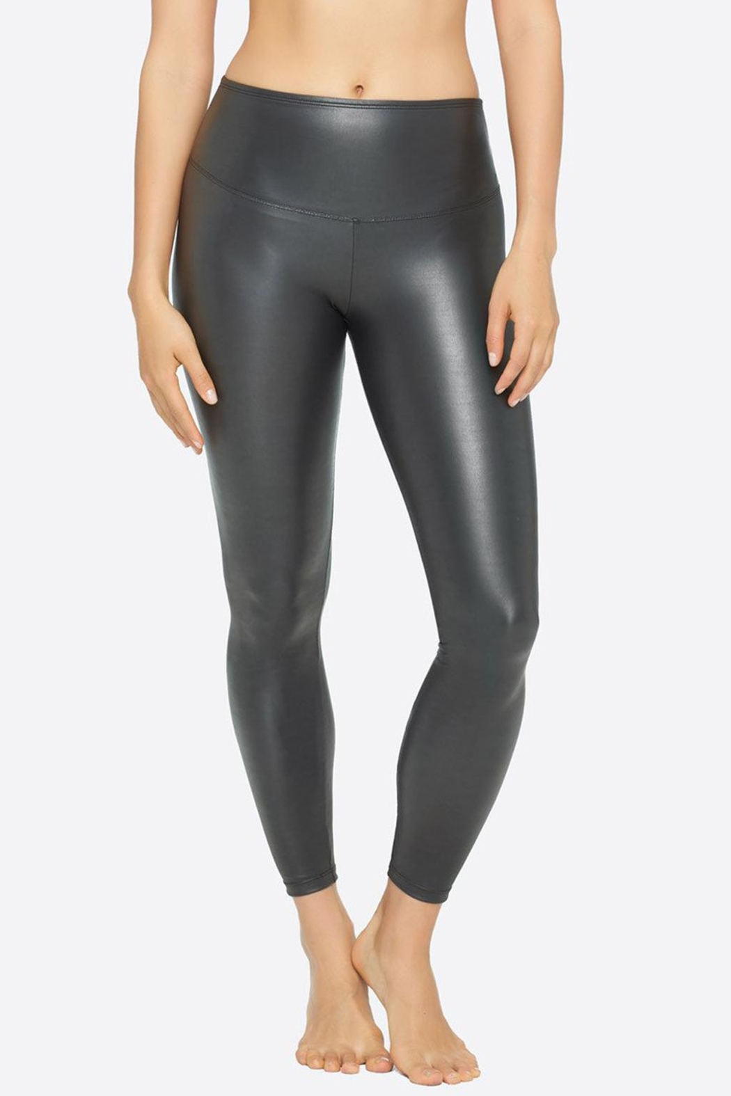 Yummie Tummie Leather Yummie Leggings - Main Image