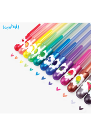 Ooly Yummy Yumme Scented Glitter Gel Pens - Set Of 12 - Product Mini Image