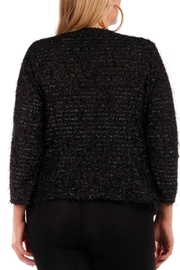 yummy plus Black Blazer - Front cropped
