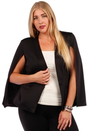 yummy plus Black Cape - Front cropped
