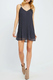 Gentle Fawn Yuna Pleated Slip Dress - Front cropped