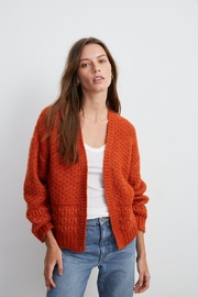 velevt Yuna Rust - Front cropped