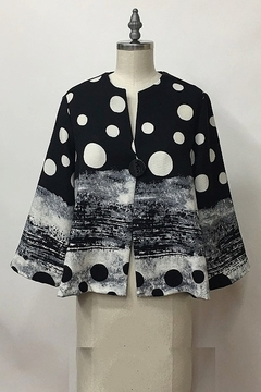 Yushi 1 Button Jacket Top - Product List Image