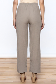 Yushi Easy To Wear Pants - Back cropped