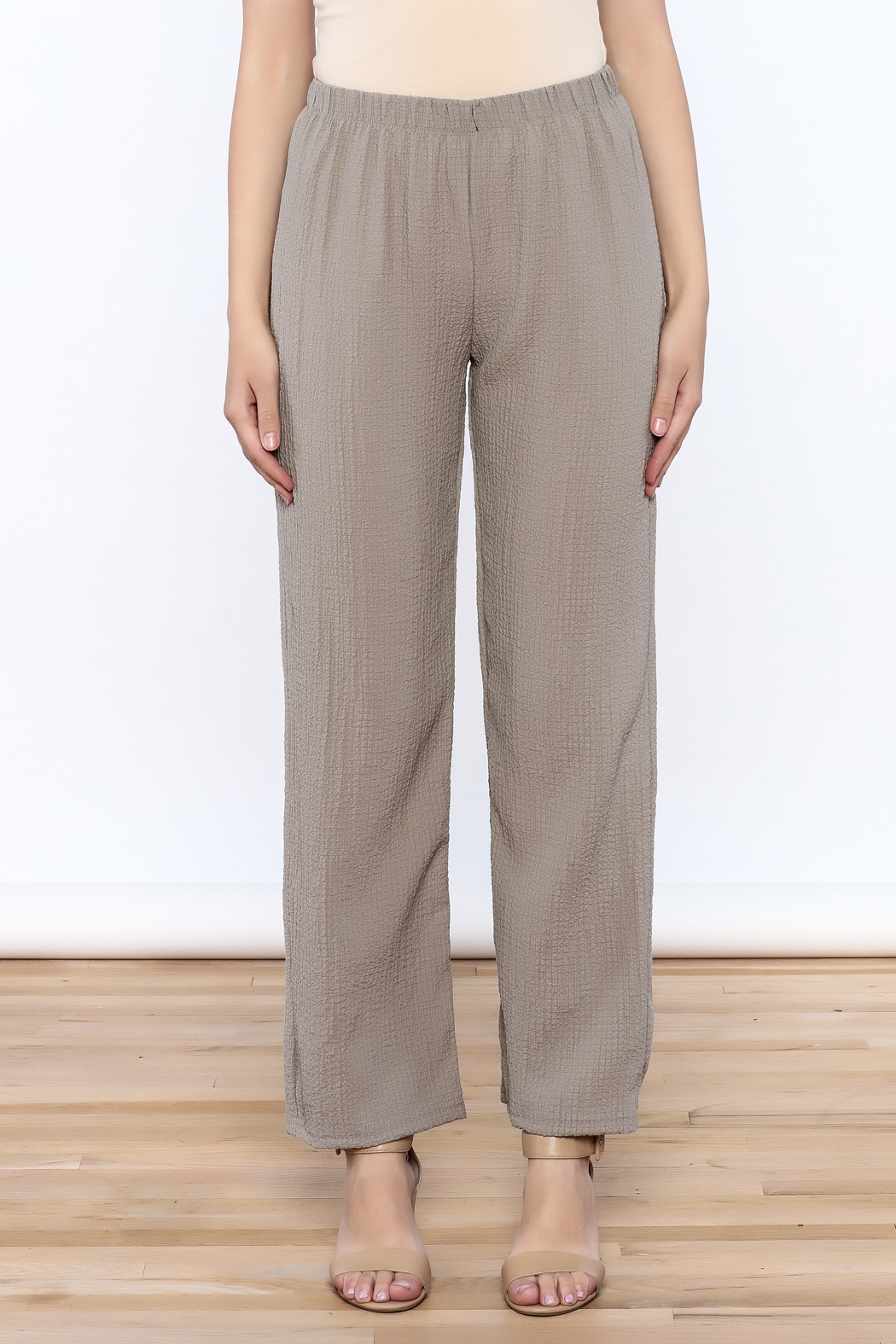 Yushi Easy To Wear Pants - Side Cropped Image