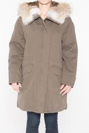 Yves Salomon Fur Lined Army Parka - Product Mini Image