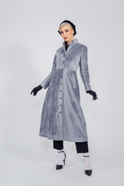 Yvette LIBBY N'guyen Paris Fashion Trenchcoat_ Mastery_ Premium Faux Fur_  Yvette Libby N'guyen Paris - Front cropped