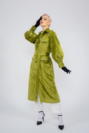 Yvette LIBBY N'guyen Paris Fashion Trenchcoat_ Rhythm_ Premium Faux Fur_  Yvette Libby N'guyen Paris - Front cropped