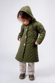 Yvette LIBBY N'guyen Paris Girls_ Trenchcoat/ Manteau_ Marbles - Front cropped