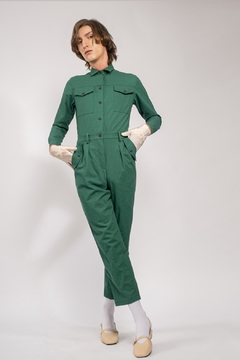 Yvette LIBBY N'guyen Paris Jumpsuit Spirit St. Louis Green_yvette Libby N'guyen Paris - Product List Image