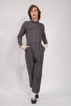 Yvette LIBBY N'guyen Paris Jumpsuit Spirit St. Louis Grey_yvette Libby N'guyen Paris - Product List Image