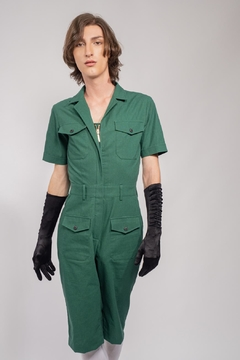 Yvette LIBBY N'guyen Paris Jumpsuit Wright Flyer Green_yvette Libby N'guyen Paris - Product List Image