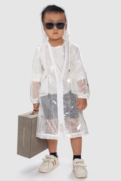 Shoptiques Product: Kid/ Unisex_ Raincoat_ Para Umbrella Boy