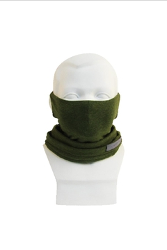 Shoptiques Product: Scarf Mask_ Multi-Function_ Kids_ Greenery