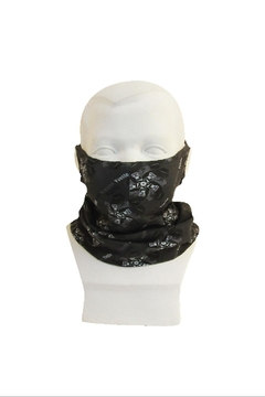 Shoptiques Product: Scarf Mask_ Multi-Function_ Kids_ Iron Gate