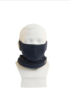 Shoptiques Product: Scarf Mask_ Multi-Function_ Kids_ Navy