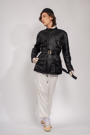Yvette LIBBY N'guyen Paris Trench Jacket Lupin Iii_yvette Libby N'guyen Paris - Side cropped
