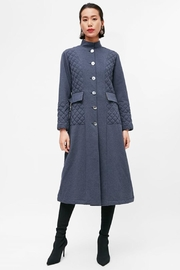 Yvette LIBBY N'guyen Paris Women_ Trenchcoat/ Manteaux_ Navy Peony - Product Mini Image