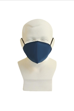 Shoptiques Product: Yvette Guard_ Face Mask_ Kids_ Indigo