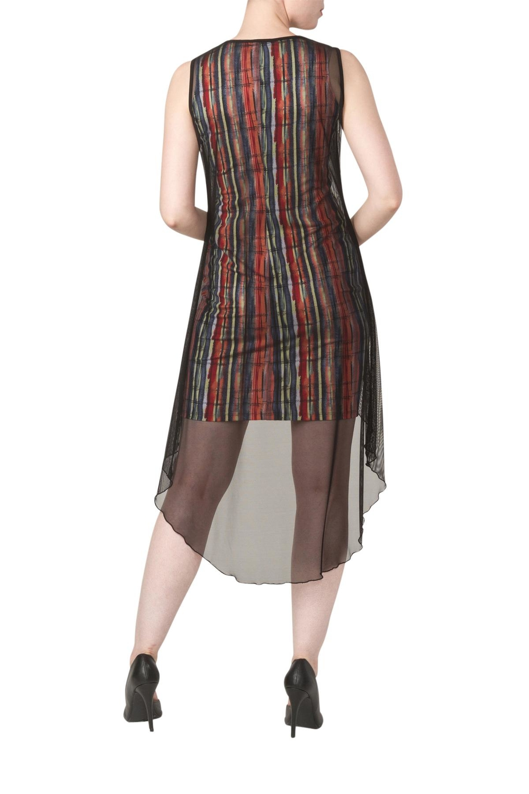 Yvonne Marie Lola Multi Color Dress - Front Full Image