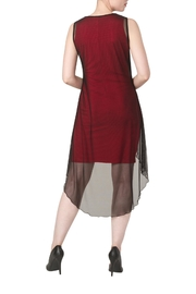 Yvonne Marie Red Nelly Dress - Side cropped