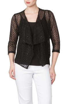 Shoptiques Product: Black Lace Bolero Jacket