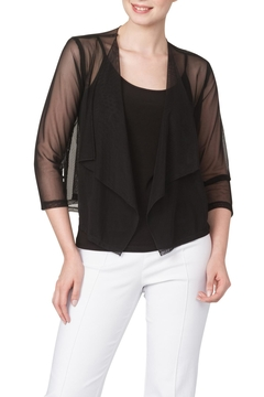 Shoptiques Product: Black Mesh Bolero Jacket