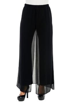 Yvonne Marie Black Palazzo Pant - Product List Image
