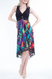 Yvonne Marie Colorful Open-Back Dress - Product Mini Image