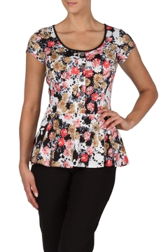 Shoptiques Product: Daisy Print Peplum Top